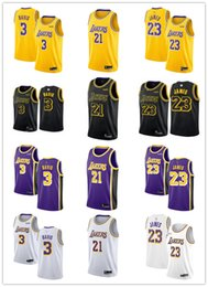 Wholesale basketball los angeles for sale – custom Mens Womens Youth Los Angeles Lakers Anthony Davis J R Smith LeBron James Basketball Jerseys
