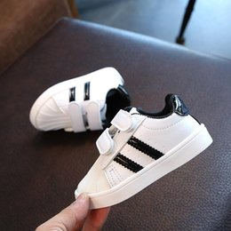 crochet baby shoes sizes Australia - & Shoes Y200404 Kids Sports 21-30 Size Little Fashion Shell Boys Girls Baby For Eur Sneakers Bottom Shoes Toddler Soft yxlZq mx_home