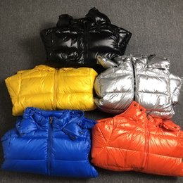 Wholesale red winter jackets for men for sale – warmest winter Mens Maya Winter Down Jacket Puffer Jackets Parka For Men Classic Casual Hooded Fur Coats Outdoor Warm Duck Feather Outwear High Quality Red
