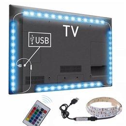 Venta al por mayor de Wireless LED RGB caliente 3 Tamaños de control remoto de neón interior lámpara de luz luces de tira de decoración de coches