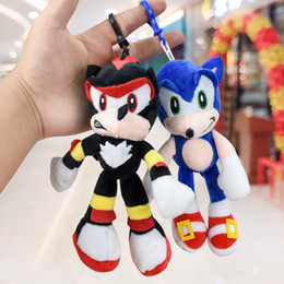 Discount holiday stuffed animals Kids toys stuffed plush toy Sonic the Hedgehog for baby holiday toy gifts 18cm