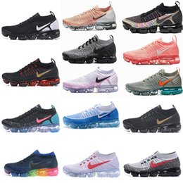 Wholesale 2020 new AIR 2019 vapor 2.0 1.0 MAX Mens Running Shoes Women Maxes Hiking Jogging Walking chaussures Trainer Sneakers