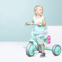 three years old babies 2020 - Child Tricycle Kids Bike Baby Walker High Quality Three Wheels 2-6 Years Old Gift for Baby Toys Balance Car discount thr