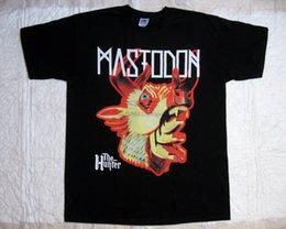Wholesale stoner shirts online – design Mastodon The Hunter Progressive Stoner Metal Lethargy Rare Black T Shirt