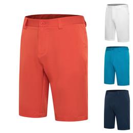Pantaloni Golf Shorts Golf Abbigliamento Uomo di sport degli uomini ad asciugatura rapida pantaloni Wicking traspirante Five-point Shorts Business Casual Uomo in Offerta