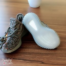 children s shoes NZ - Fashion Designer Sneaker Brand Kids Shoes Baby Toddler Children Run Shoes Kanye West Sport New Boy S