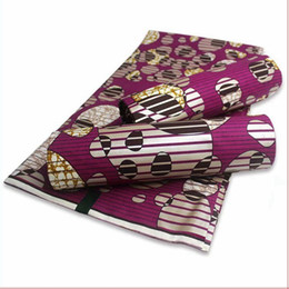 Wholesale african wax print fashion resale online - 2020 latest ankara fabric fashion printed cotton African golden wax prints nigerian style sewing material yards