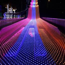 LED 1.5M*1.5M 100 LEDs Web Net Fairy Christmas home garden Light curtain Net lights net lamps