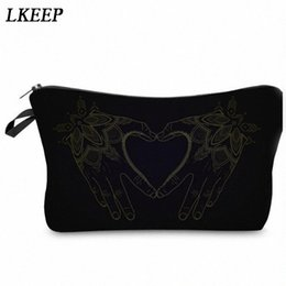 cosmetic bags hearts wholesale Australia - 2019 Love Heart Pattern Women Clutch Cosmetic Bag Make Up Organizer Fashion Women Printing Multifunction Portable Makeup Bags jGvx#