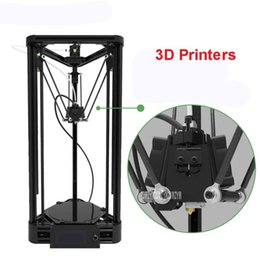 3d printer pulley UK - 100-240V 3d printer DIY injection version of delta parallel pulley version with warm bed and big power 360W 20-100mm s