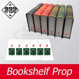 sensor rfid NZ - Bookshelf prop escape room prop place all books in corrct place to open maglock escape props RFID sensor props 999PROPS