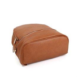 2021 arrival Unisex PU bag High capacity Backpacks backpack European and American brand handbags shoulder bag's handbag on Sale