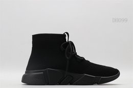 Ingrosso Top Nuovi uomini scarpe da corsa Shos scarpe da tennis delle donne di sport esterni Triple Black White addestratori Uomo Scarpe scarpe 003 di formazione
