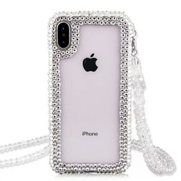 bling note Australia - Transparent Bling Diamond Stand Clear TPU Case For iPhone 12 11 Pro X XR XS Max 8 SE 2020 Samsung S9 S10 S20 Plus Note 20 Ultra A51 A71 A21S