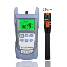 Großhandel 2 In1 FTTH Fiber Optic Tool Kit VFL Fiber Optical Power Meter 70 ~ + 10dBm und 30MW von Visual Fault Locator LWL-Teststift