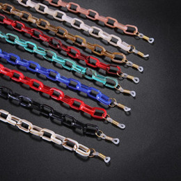 Acrylic Glasses Chain Anti-slip Sunglasses Strap Reading Eyeglasses Cord Holder Neck Rope Lanyard for Women Men 2020 New