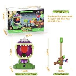 Plant War Mini Action Figure Shooting Game Steam Plant Battle Scene Doll Model Assembly Bricks Children Birthday Gift on Sale