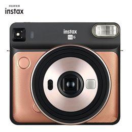 Film Cameras Instax SQ6 Instan Po Camera For Fuji Instant 3 Colors Golden White Grey on Sale