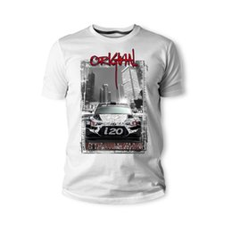 fan mod Australia - T-Shirt Korean Classic Car Fans I20 Racer Mod Schwarz Weiss Auto Youngtimer Oldtimer Herren 219 New Short Sleeve Men Fashion