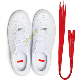 Großhandel Nike Air Force 1'07 Low SUP White Hot Sale New Forces 1 07 Low-Skateboard-Schuhe sb dunk Turnschuhtrainer Strange Love CU9225-100 Trainerturnschuhe size36-45 läuft