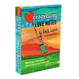 Wholesale crazy love for sale - Group buy Crazy Sexy Love Notes A Powerful Reminders Appreciate Yourself Card Deck Cards the Kris Carrs Tarot Oracles Game Self Love