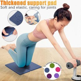 wholesale pilates yoga equipment UK - 1 Pair Of Non-slip Yoga Mat Fitness Mat Sports Gym Pilates Beginner Flat Support Elbow Pad Home Fitness Equipment#p2 hIcW#