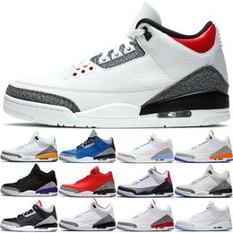 laser height Australia - Men Basketball Shoes Mens Trainers SE Fire Red UNC Varsity Royal Black Cement JTH NRG Tinker Katrina Laser Orange Sports Sneakers Size 40-47