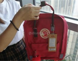 backpack specials NZ - 7l 16l Hot 20l 18 Colour Fjallraven Arctic Fox Outdoor Backpack Kanken Yellow Rainbow Blue Board Special Edition Casual Bags women