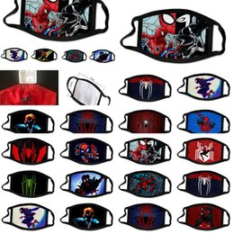 man united cartoons NZ - Designer Spider Man Spiderman Luxury Facemask Cartoon Face Mask United Kingdom Super Hero Mylovethome Qwffq