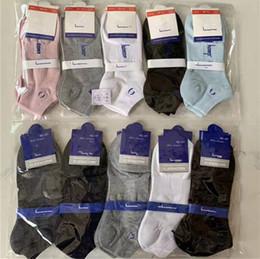 Wholesale sports hosiery for sale - Group buy Men Women Ankle Socks Letter Print Sock Slippers Sports Cotton Anklet CHAM Girls Hosiery Ship Socks Summer Short Sneaker Stockings