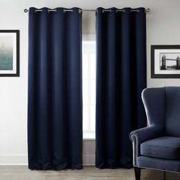 Wholesale Modern Blackout Curtains for Living Room Window Curtains for Bedroom Curtain Fabrics Ready Made Finished Drapes Home Decor