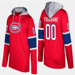 Wholesale mens hoodies prices resale online - Customize Montreal Canadiens Hoodie Jersey Mens Max Domi Shea Weber Brendan Gallagher Carey Price Antti Niemi Hockey Jerseys