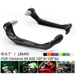 clutches parts 2020 - Motorcycle Brake Protector Motorcycle Handlebar Brake Clutch Levers Protector Guard Moto Parts Bike CNC Aluminum cheap c