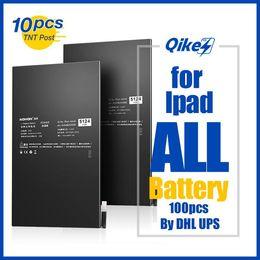 Großhandel 10pcs qikes Tablet-Batterie für Apple iPad mini 2 3 4 5 6 Luft pro 6471mAh Ersatzakku A1512 A1489 A1490 A1491 A1599