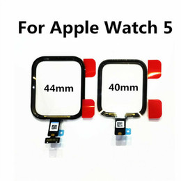 New Tested Touch Screen Digitizer Assembly Replacement For Apple Watch iWatch 5 40mm 44mm on Sale