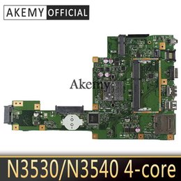 mainboard for laptop Australia - NEW Akemy X553MA Laptop motherboard for ASUS X553MA X553M A553MA D553M F553MA K553M Test original mainboard N3530 N3540 4-Core