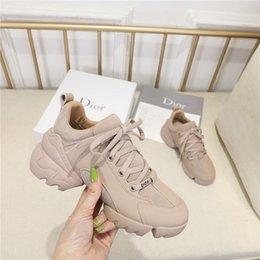 Повседневная женская обувь, спортивная обувь, кроссовки, бренд дизайнер коровьей шаги 35-41 метров с коробкой 7816 на Распродаже