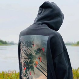 Wholesale shirts bape online – design 19SS FOG FEAR OF GOD ESSENTIALS Hoodie men Pullover Sweatshirts Long Sleeve Shirt Autumn Winter clothing Printed letter Floral Photo Sweater