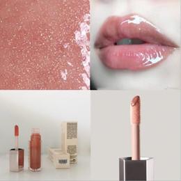Hot rouge à lèvres de maquillage 9 couleurs brillant cerise vitamine FUSSY clair / Glow / LAIT DIAMOND LIP glaçure bombe brillant à lèvres liquide lueur pointilleux 9ml en Solde