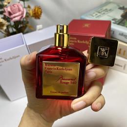 Maison Francis Kurkdjian Baccarat Rouge 540 EXTRAIT DE PARFUM Neutre Oriental Fragrance Floral 70ml EDP Top Qualité haute performance en Solde