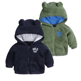 formal clothes for baby boys UK - Infant Jacket 3-18M Autumn Winter Newborn Jackets For Girls Coat Kids Warm Outerwear For Boys Jackets Baby Coat Baby Clothing Y200831