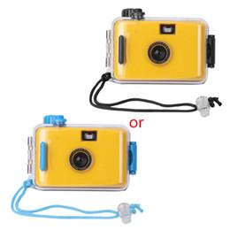 Wholesale Underwater Waterproof Lomo Camera Mini Cute 35mm Film With Housing Case New Y5LB