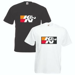 T-Shirt KN Air Filter Vari Taglie Colori Auto Motor Sports Drift