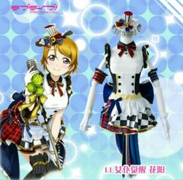 Wholesale maid love resale online - Love Live Koizumi Hanayo Awakening SR Maid School Idol Cosplay Costume Dress