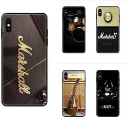 original drum Australia - Guitar Amp Marshall Drum Colorful Fashionable Soft TPU Fashion Original For iPhone SE2020 11 12 Plus Pro X XS Max XR 8 7 6S SE 5 5C 5S