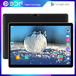 gps tab 2021 - New Original 10 inch Tablet Pc 3G Phone Call Quad Core Google Market GPS WiFi FM Bluetooth 10.1 Tablets 1G+32G Android 7