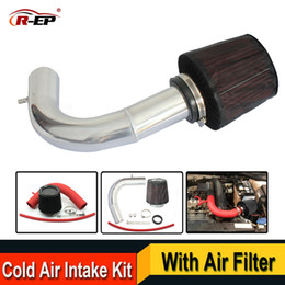 skoda kit Australia - R EP Cold Air Intake Kit with High Flow Filter Fits for V W VOLKSWAGEN Golf 7 Passat Skoda Audi A3 Replacement Aluminum Pipe