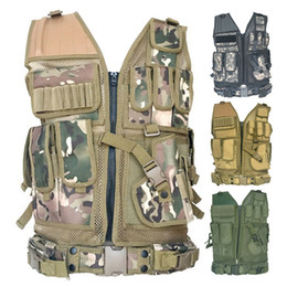 Wholesale vests for hunting for sale - Group buy High Quality Tactical vest security outdoor training combat CS field protection vest For Paintball Game SWAT Team Hunting Vests