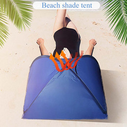open beach tent Australia - Beach Tent Ultralight Folding Tent Up Automatic Open Family Tourist Fish Camping Sun Shade Shelter Portable Anti UV