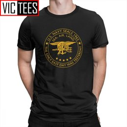 cheap vintage t shirts Australia - USA Navy Seals T Shirt For High Tall Men Vintage Style Tees Shirt Cheap Branded T-Shirts Valentine's Day Gifts Big Size